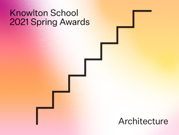 Knowlton School Awards for architecture graphic